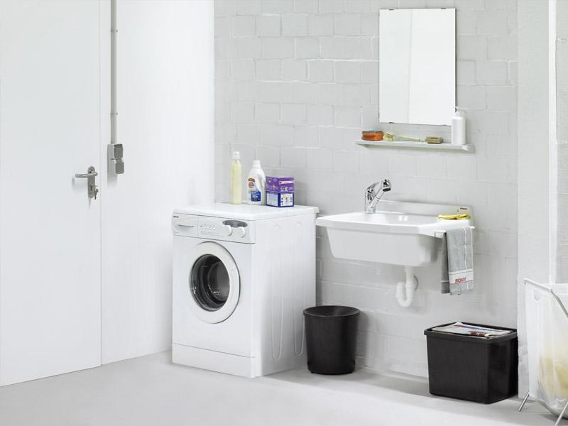 Waschbecken Waschküche